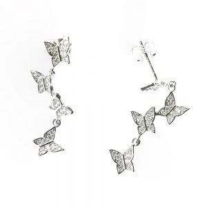 Enduring Butterfly Earrings
