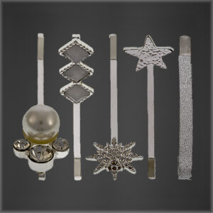 Diamante Pearl Vintage Hair Pins