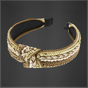 Gypsy Hair Band Gold