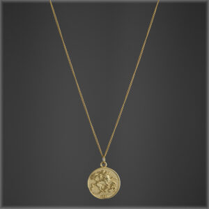 Royal Medallion Coin Necklace