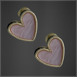Sweet Heart Acrylic Earrings