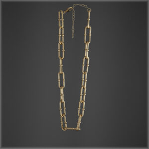 Gold Plated-Chain Link Necklace